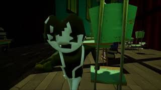 Hello Neighbor Playing Tag with Bendy and friends