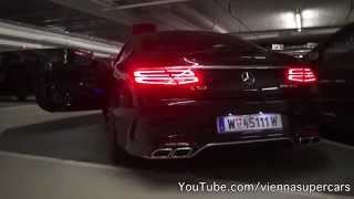2014 Mercedes S 63 AMG Coupe SOUND!