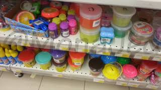Fruits Slices, Tooth, Turtle, Soda, Glitter, Neon Slimes  In Carrefour, Emporium Mall