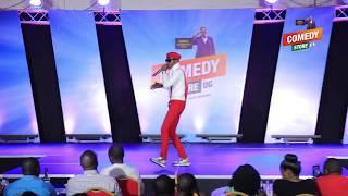 Alex Muhangi Comedy Store March18 - Jose CHAMELEON
