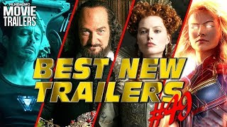 BEST NEW TRAILERS (2018) - WEEKLY Compilation #49