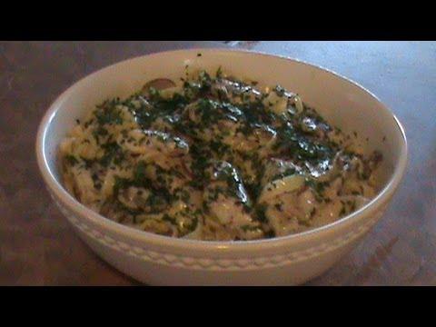Chicken Fettuccini Alfredo فيتوتشيني الفريدو بالدجاج والفطر