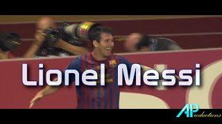 Lionel Messi - 2011-2012 All 73 Goals *1080p*