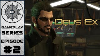Deus Ex: Mankind Divided - Part 2 - Crash and Burn