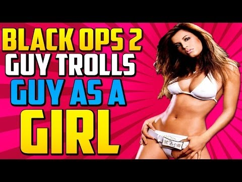 COD BO2: Little Kid Pretends To Be Girl On Black Ops 2!