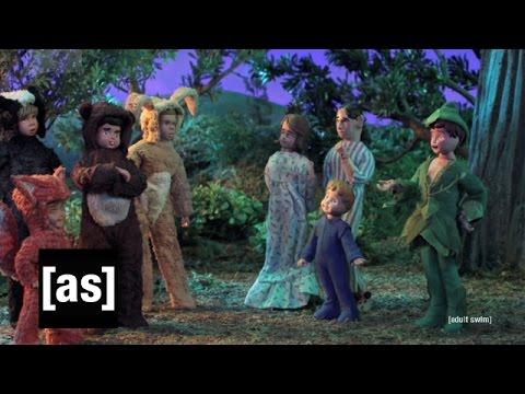 Taken to Peter Pan's Neverland | Robot Chicken | Adult Swim
