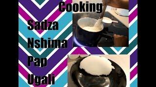 How to cook Sadza (Nshima, Pap, Posho, Ugali, Polenta, Fufu) | ZigZag ChitChat