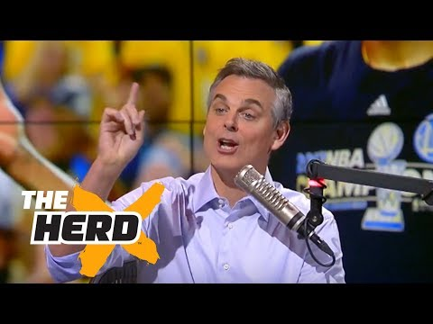 Colin Cowherd reacts to Durant s Finals MVP LeBron s loss in 2017 NBA Finals THE HERD