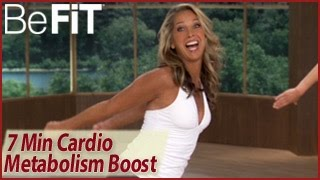 7 Min Cardio Metabolism Booster Workout: Denise Austin