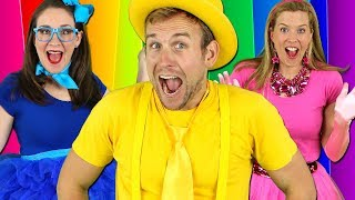 Colors Songs Collection | Learn Colours for Kids | Nursery Rhymes & Preschool Songs