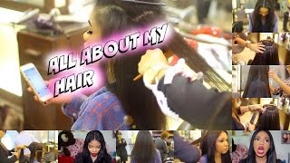 ALL ABOUT MY HAIR!!!