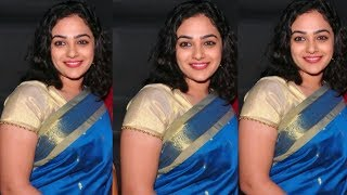 Nithya Menon Hot Navel Show In Award Functions HD