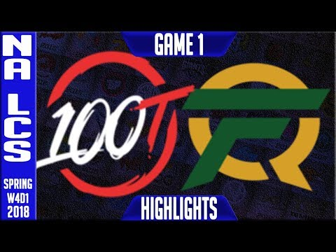 Xxx Mp4 100 Vs FLY Highlights NA LCS Week 4 Spring 2018 W4D1 100 Thieves Vs FlyQuest Highlights 3gp Sex