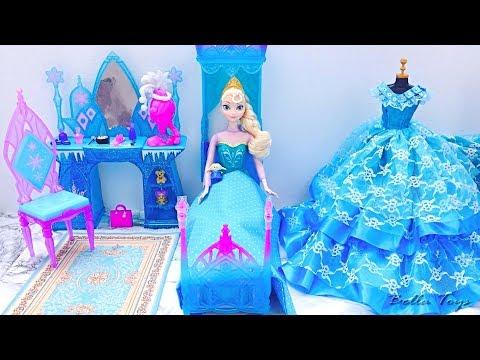 Xxx Mp4 💙Barbie Kamar Tidur Putri💙Elsa Frozen💙Rumah Boneka Putri Rutinitas Pagi Hari Kamar Mandi Mandi Gaun 3gp Sex