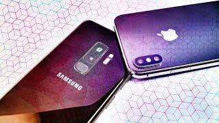 Samsung Galaxy S9 vs iPhone X!