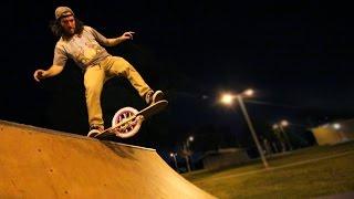 Homemade One Wheel Skateboard