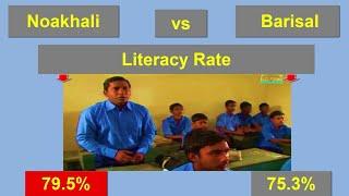 নোয়াখালী বনাম বরিশাল জেলা || Noakhali vs Barisal District Comparison