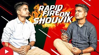 Shouvik Ahmed doesn't need any INTRODUCTION | Rapid Fire Show