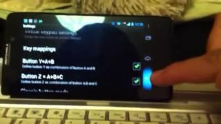 Usa tu teclado para juegos en Android