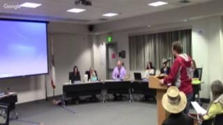 """""""Sesión ordinaria de la Mesa Directiva de Educación del MUSD - 1/23/17"""
