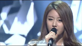 [Vietsub] We Were In Love _ T-ara & Davichi @ 120129 SBS Inkigayo