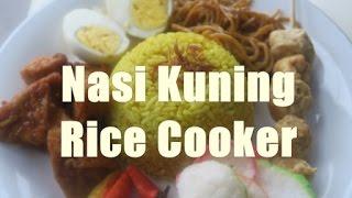 Resep Ayuni #29 Nasi Kuning RiceCooker Sederhana