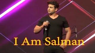 Sanket Bhosale Best  live  Mimicry Of Salman Khan