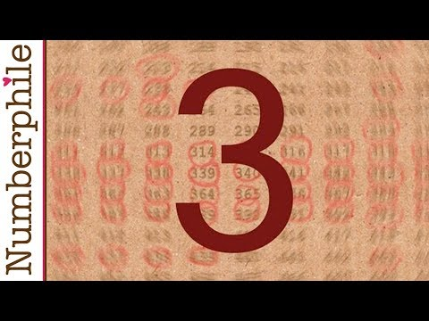 3 is everywhere Numberphile