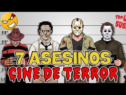 Origen de 7 ASESINOS Clásicos de las Películas de Terror Mefe