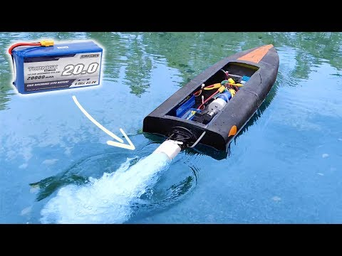 NEW 3D Printed Jet Boat PART 2