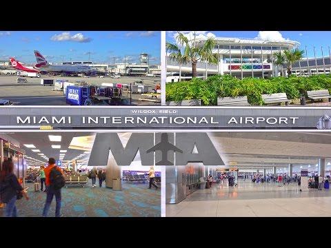 MIAMI INTERNATIONAL AIRPORT ( MIA ) - MIAMI 2016 4K