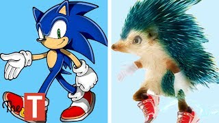 10 SONIC Characters In Real Life
