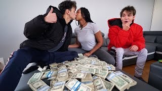 I Paid My Twin Brother $20,000 To KISS His EX GIRLFRIEND!