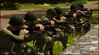 Band Of Brothers - Combat Mission: Battle For Normandy Gameplay