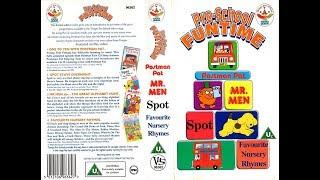 Preschool Funtime (1993 UK VHS)