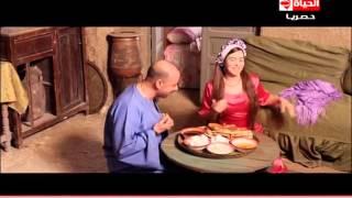 أقوى مشهد كوميدى بين أيمى سمير غانم واللمبى فى ليلة الدخلة ... الحلقة السادسة عشر مسلسل فيفا أطاطا