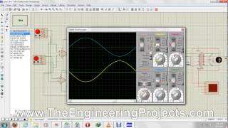 How to Use Oscilloscope in Proteus ISIS