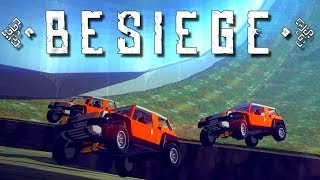 BESIEGE Multiverse and MULTIPLAYER MADNESS! - Besiege Multiverse Gameplay