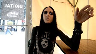 Motionless In White Interview with Ricky Horror on Playing Rock On The Range [NN033]