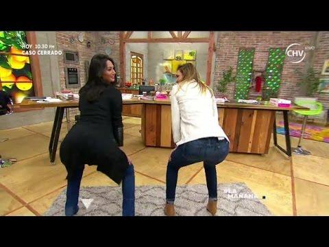 Xxx Mp4 Carolina De Moras Y Pamela Díaz Bailaron Twerking La Mañana 3gp Sex