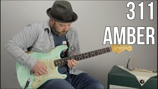 "311 ""Amber"" Guitar Lesson (With Guitar Solo)"
