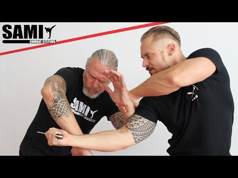 Xxx Mp4 SAMI Knife Disarming Drill 01 SAMICS Daily Training 3gp Sex