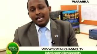 SOMALICHANNEL TV OO MACALLIN CABDIBOQOR KULA KULMAY JAAMACADA AL-MADINA!