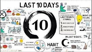 TAKE ADVANTAGE OF LAST 10 DAYS OF RAMADAN - Tim Humble Animated