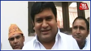 Delhi MCD polls: Sacked over Sex CD Row, Former AAP Minister Sandeep Kumar Campaigns For BJP
