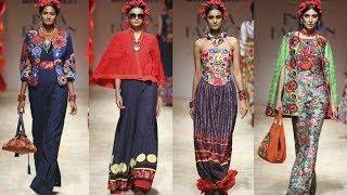 Fashion Designer Payal Jain Amazon India Fashion Week Spring Summer 2018 Collection-3  Trendy India
