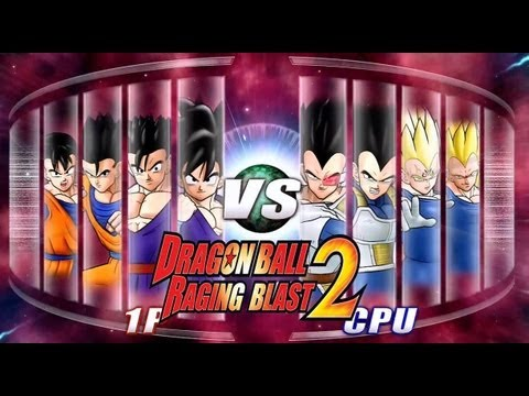 Dragon Ball Z Raging Blast 2 Team Gohan Vs. Team Vegeta 400th Video