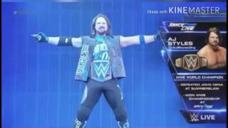 What if Aj Styles use these themes