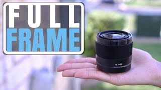 Sony 28mm F/2 Lens Overview