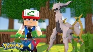 Minecraft: Pokemon X Y - FILHO DO ASH PEGOU UM ARCEUS #55